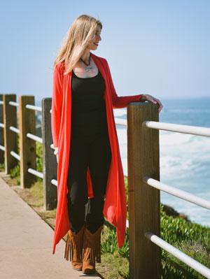 Kelly Rudolph - beach 2