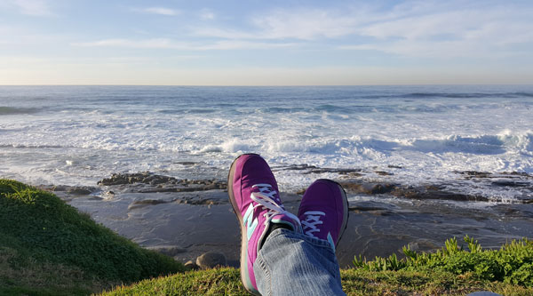 La Jolla feet