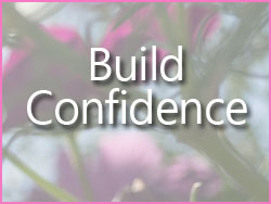 build confidence button