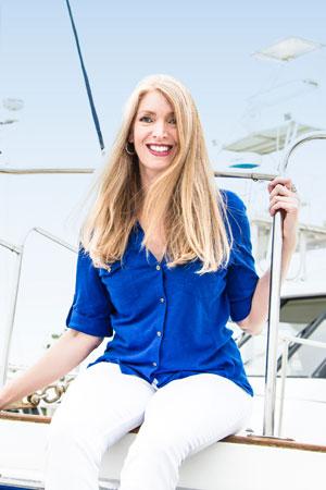 Kelly Rudolph yacht